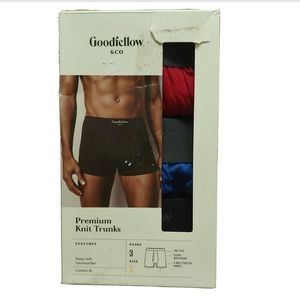 Goodfellow men's underwear 3 pairs size small